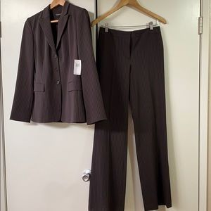 Tahari Pinstriped Suit NWT